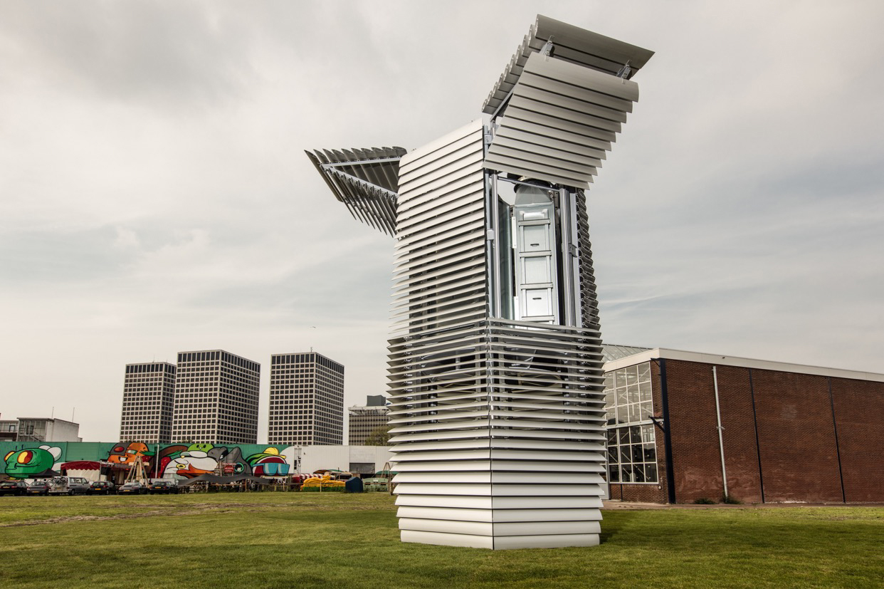 Daan Roosegaarde Is an Artist and Designer Who Created a Gigantic Air Purifier That Doubles As a Sculpture