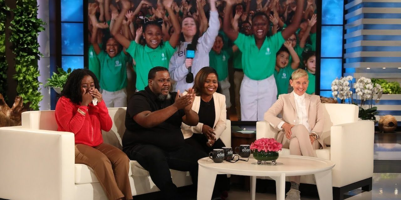 Ellen DeGeneres Sheds a Light on Bright Students