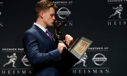 How Joe Burrow's Heisman Trophy Win Inspires Others to Give Back