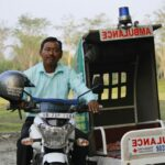 Man Develops Motorcycle Ambulance to Save Lives