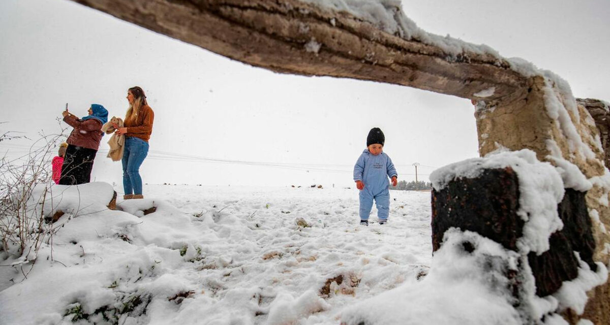 Snow in Iraq