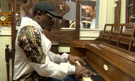 Man Donates Antique Piano to Student