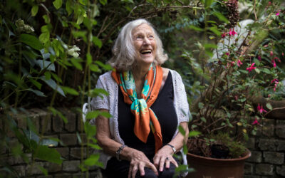 86-Year-Old-Woman Tells Stories Through Scarves