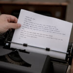 Free Typewritten Letters for Friends Feeling Blue When We Need it Most