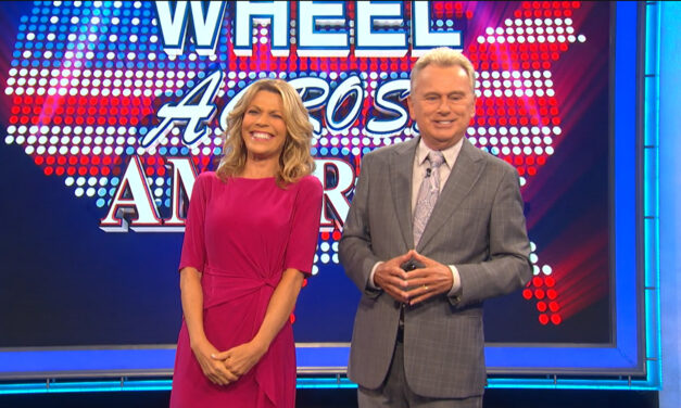 Celebrity Wheel of Fortune Raises Money for Charities