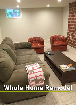 Services | Whole Home Remodeling