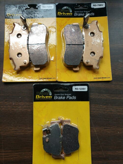 Brake Pads Honda Pioneer 700-4 SXS700 2014-2019 Front and Rear by Race-Driven
