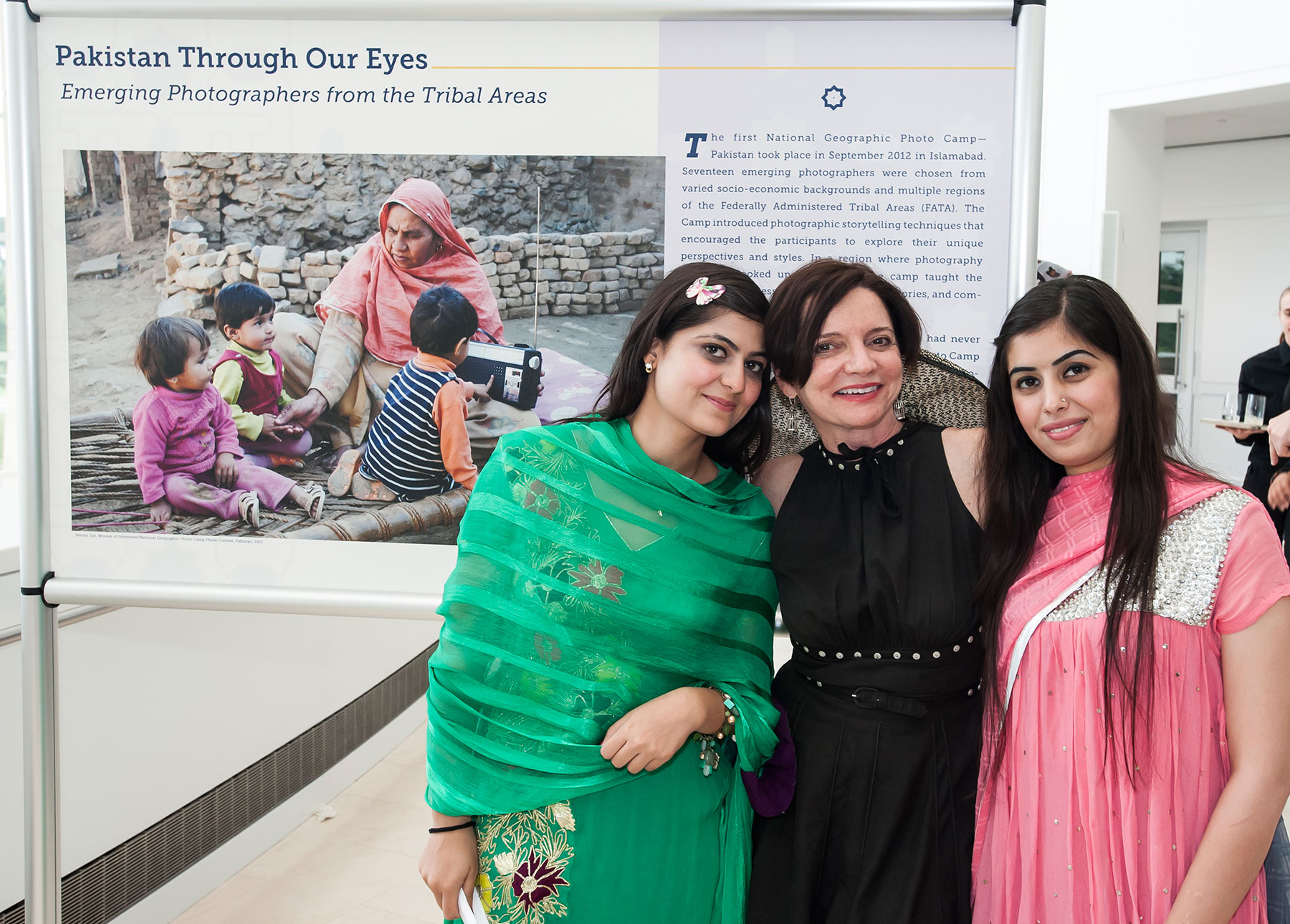 """The exhibition """"Pakistan Through Our Eyes: Emerging Photographers from the Tribal Areas"""" was presented on June 12, 2013 at the United States Institute of Peace in Washington, D.C. The exhibition highlighted the work of 17 emerging photographers from the Federally Administered Tribal Areas (FATA) of Pakistan who participated in two National Geographic Photo Camps. National Geographic Photo Camp Pakistan is a collaboration of USAID, National Geographic and Internews. Curators Without Borders provided exhibition curation and graphic design. Photo: imijphoto.com"""