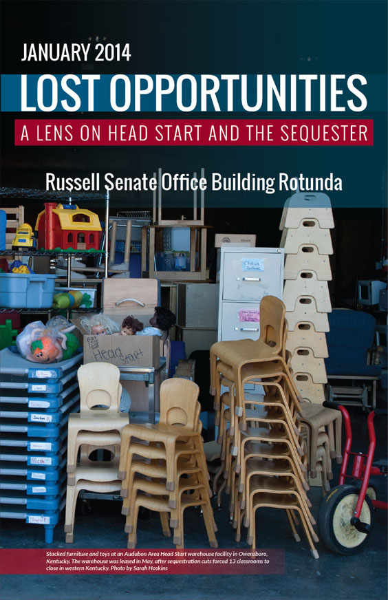 Lost Opportunities: A Lens on Head Start and the Sequester