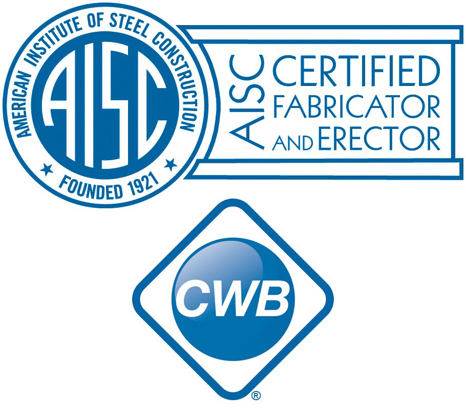 AISC and CWB logos