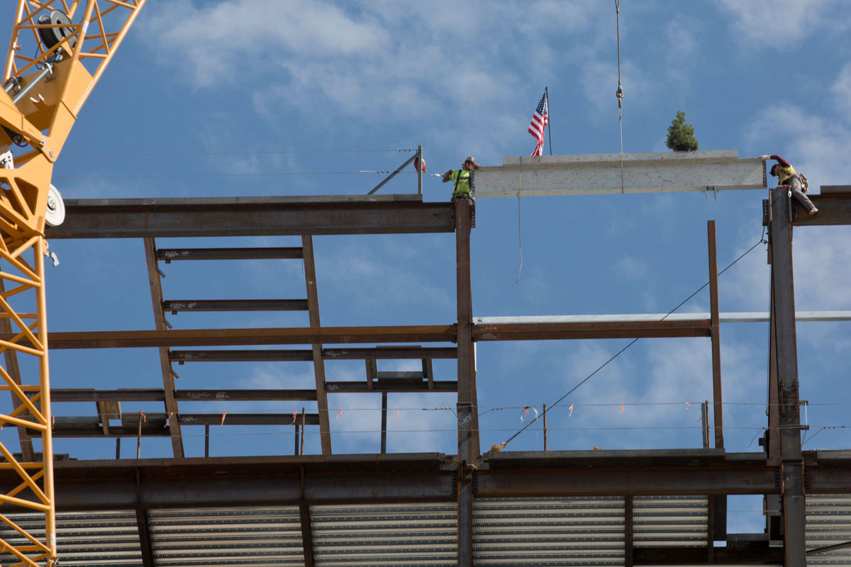 Utah Valley Hospital Topping Out