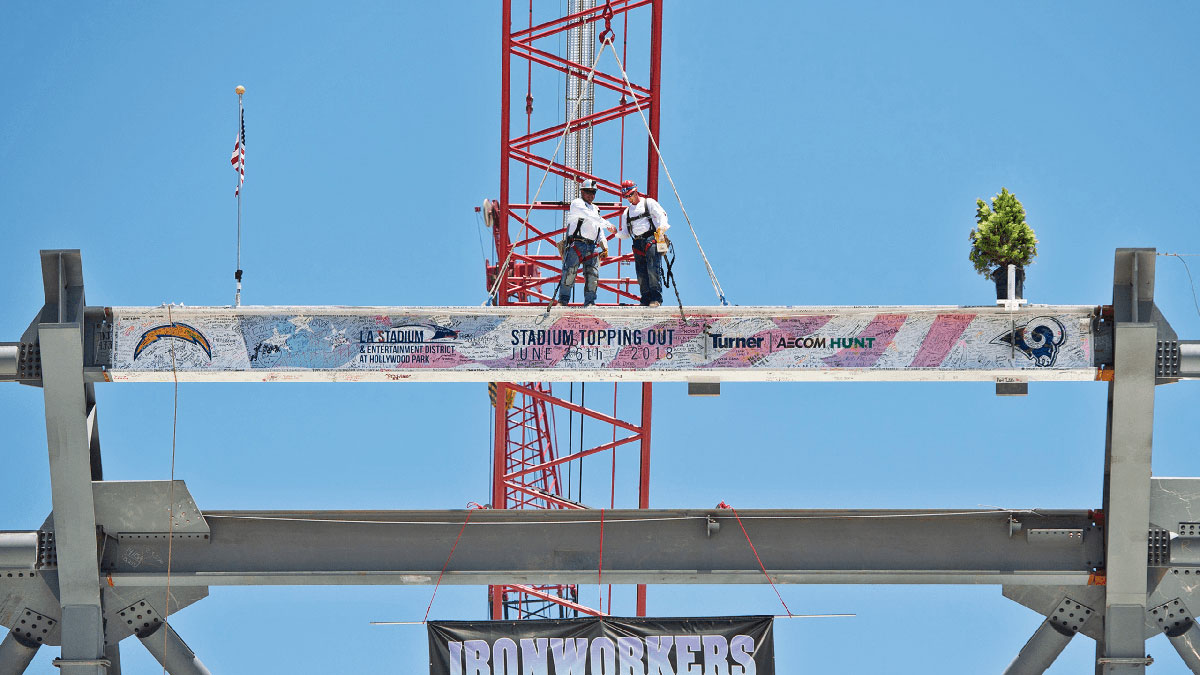 LASED Topping Out