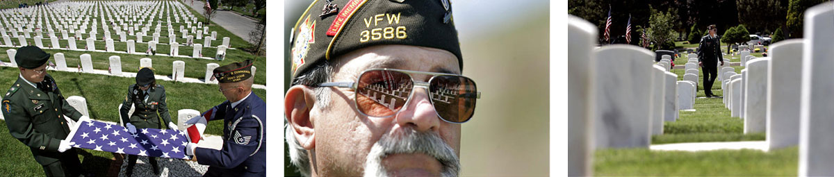 SLC Cemetery pays homage to Veterans