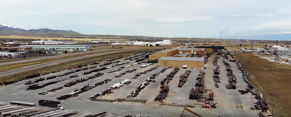 aerial view of SME Steel