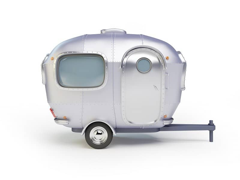vintage Trailer for outdoors