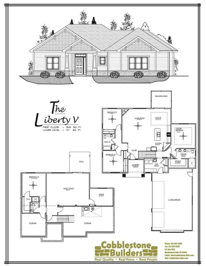 Liberty V Floor Plan
