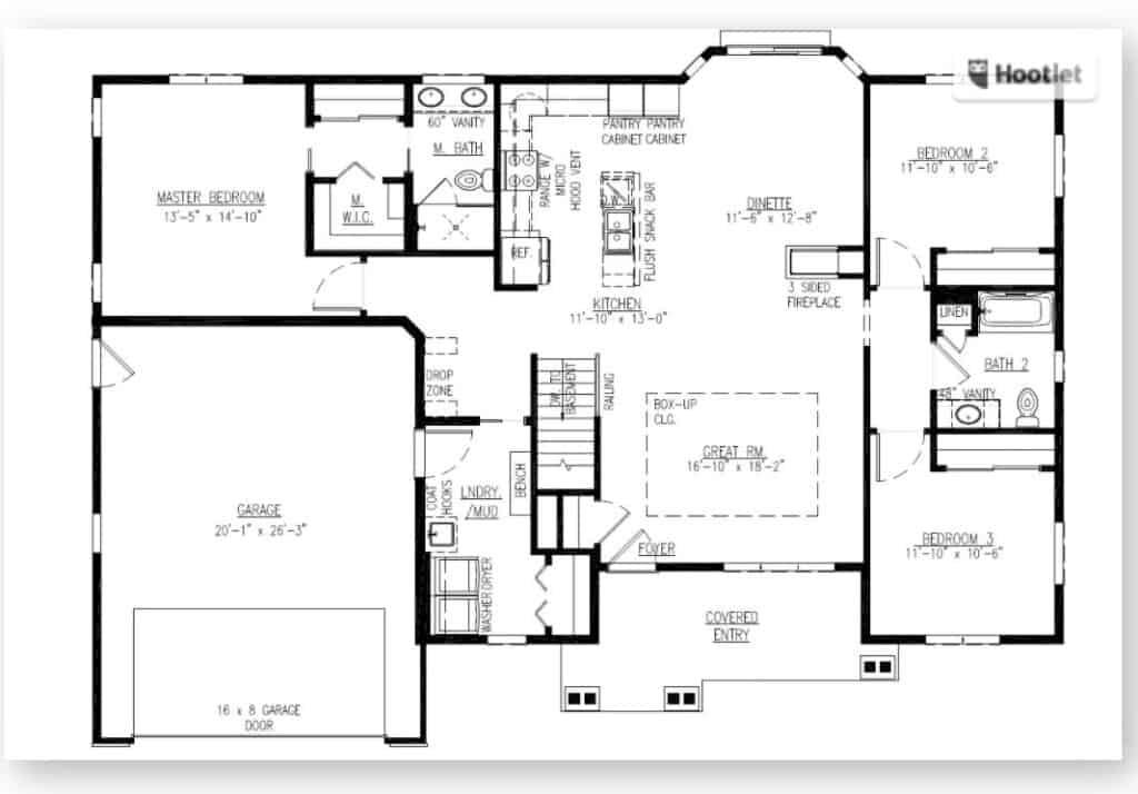Freedom III Floor plan