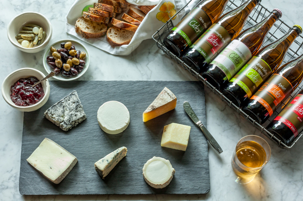 Cider cheese pairings