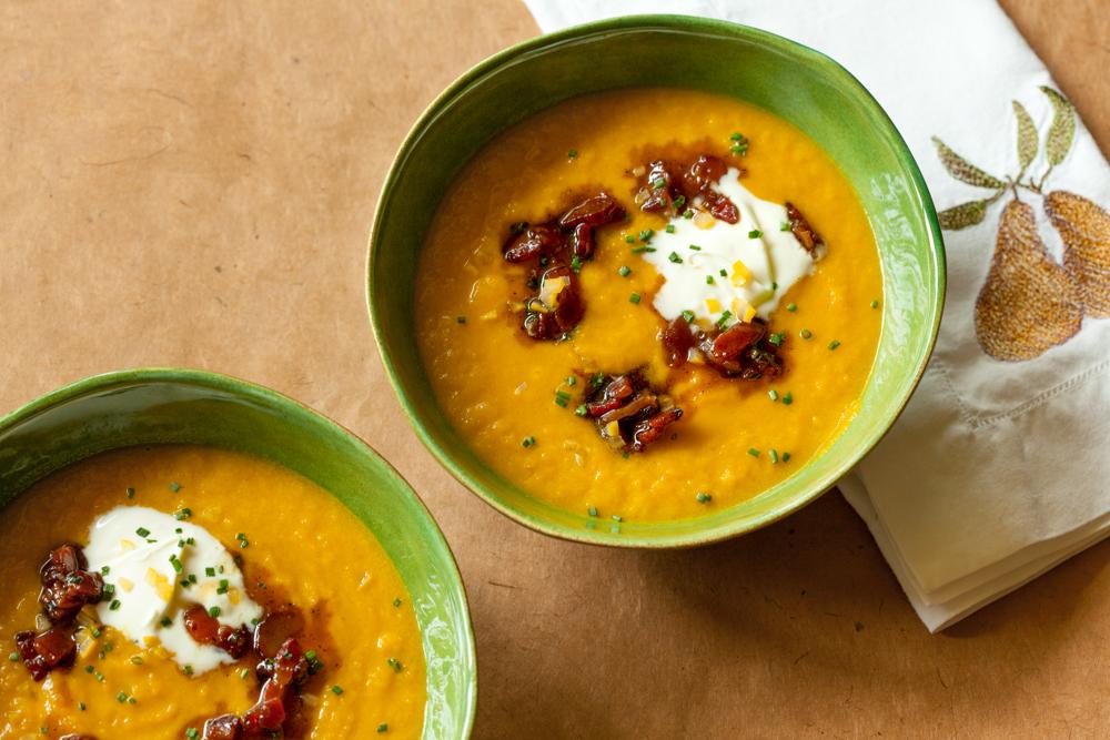 Cider food pairings leek soup