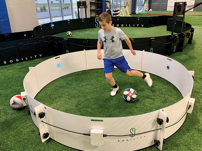 Technical Soccer Zone Training