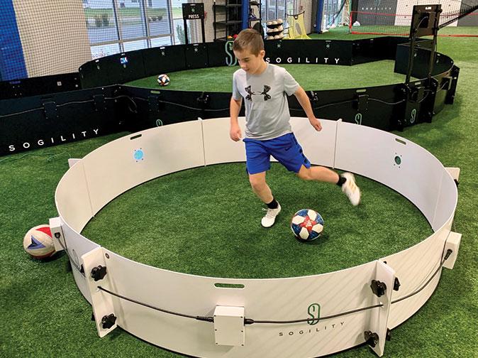 Technical Soccer Zone Soccer Training