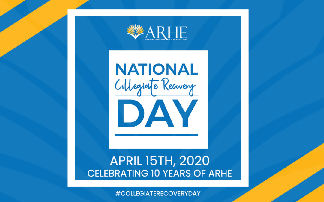 Inaugural National Collegiate Recovery Day 2020