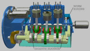 variable compression engine