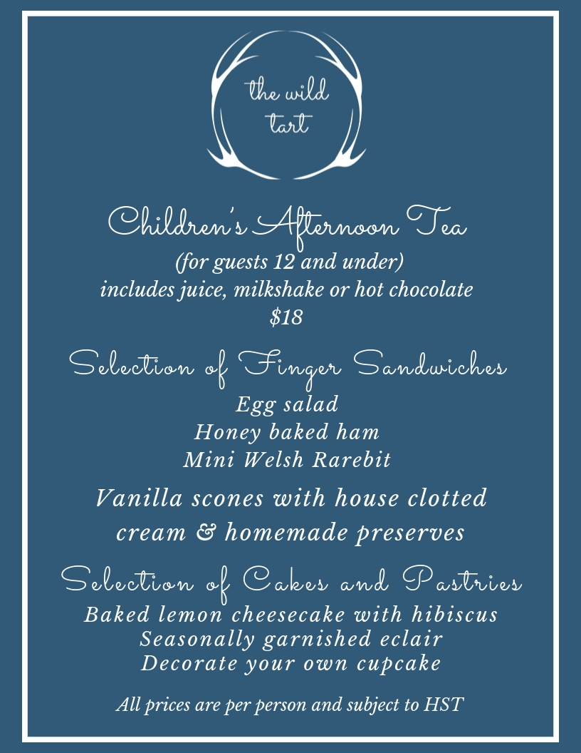 Web Children's Afternoon Tea