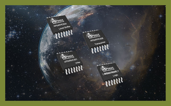 Apogee Semiconductor Rad-Hard Integrated Circuits for Small Satellites now Available at Mouser Electronics