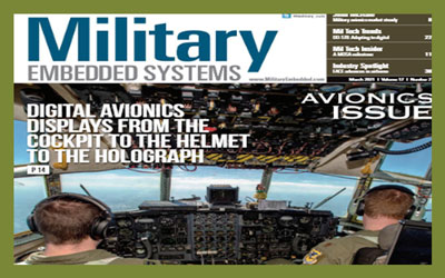Military Embedded Systems – 2021 Avionics Issue: Editor's Choice Products