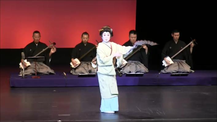 """Bando Hiromiya Dance: """"Momiji No Hashi"""" photo: Steeve Inagaki"""