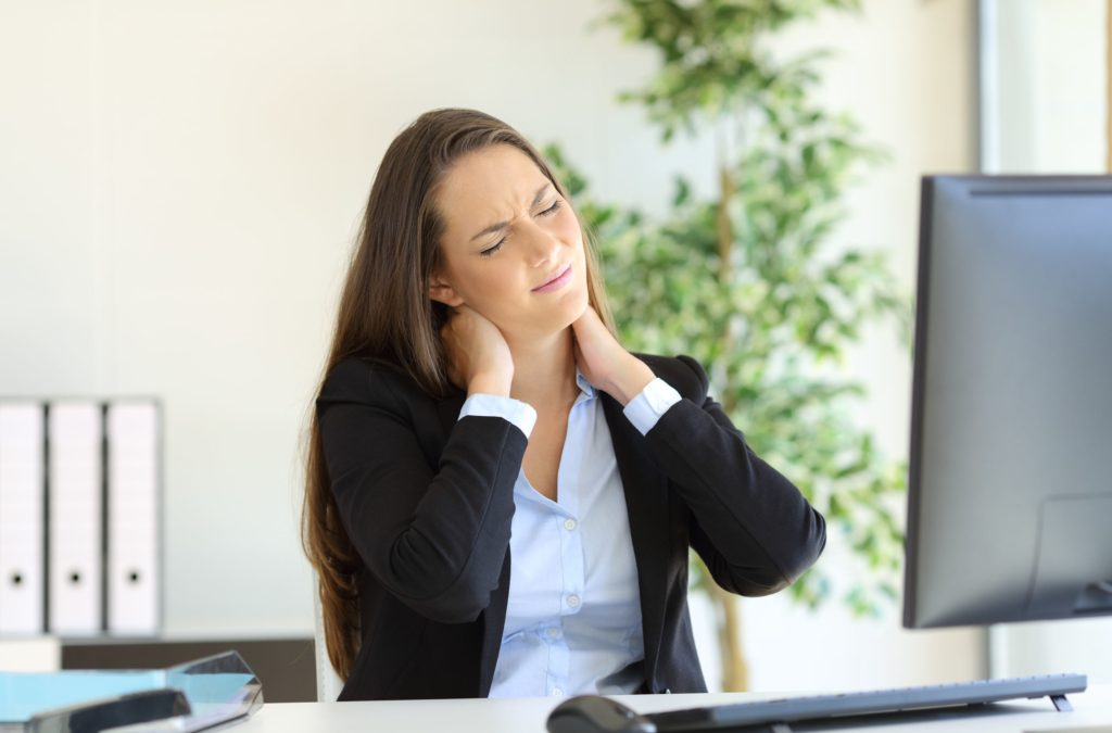 Why You May Experience Neck Pain Sitting at a Computer. . . and What to Do About It