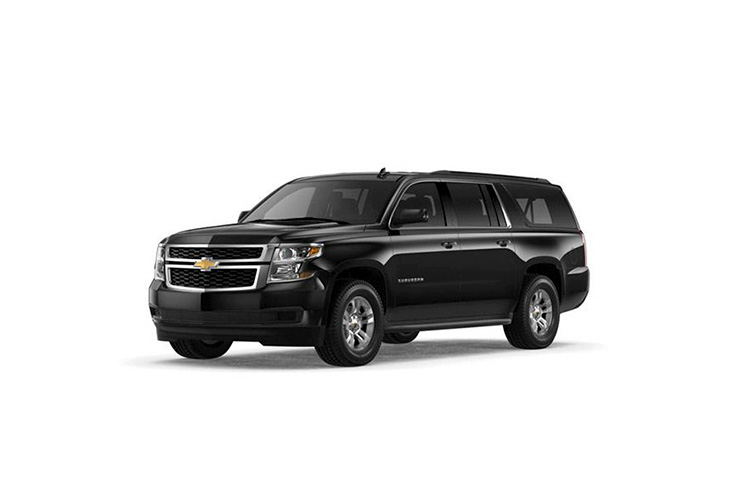black limos from limo fleet