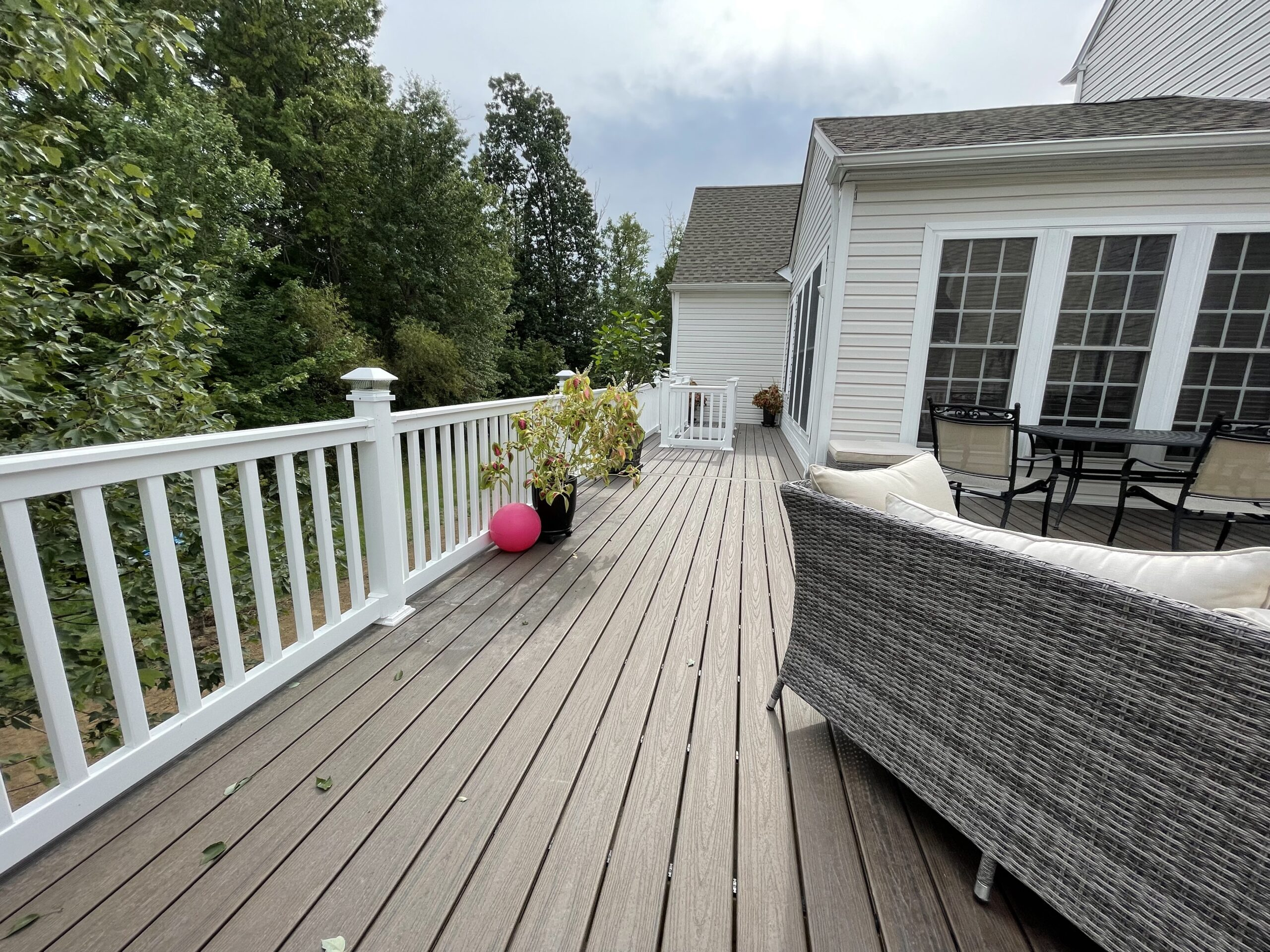 Residential Contractor For Decking Construction in Chester Springs Chester County PA