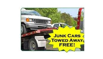 JUNK CARS TOWED AWAY FREE!