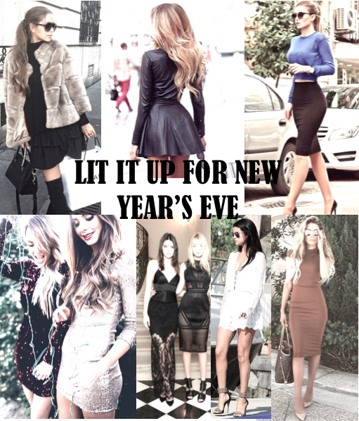 Lit It Up With These Top New Year's Eve Looks