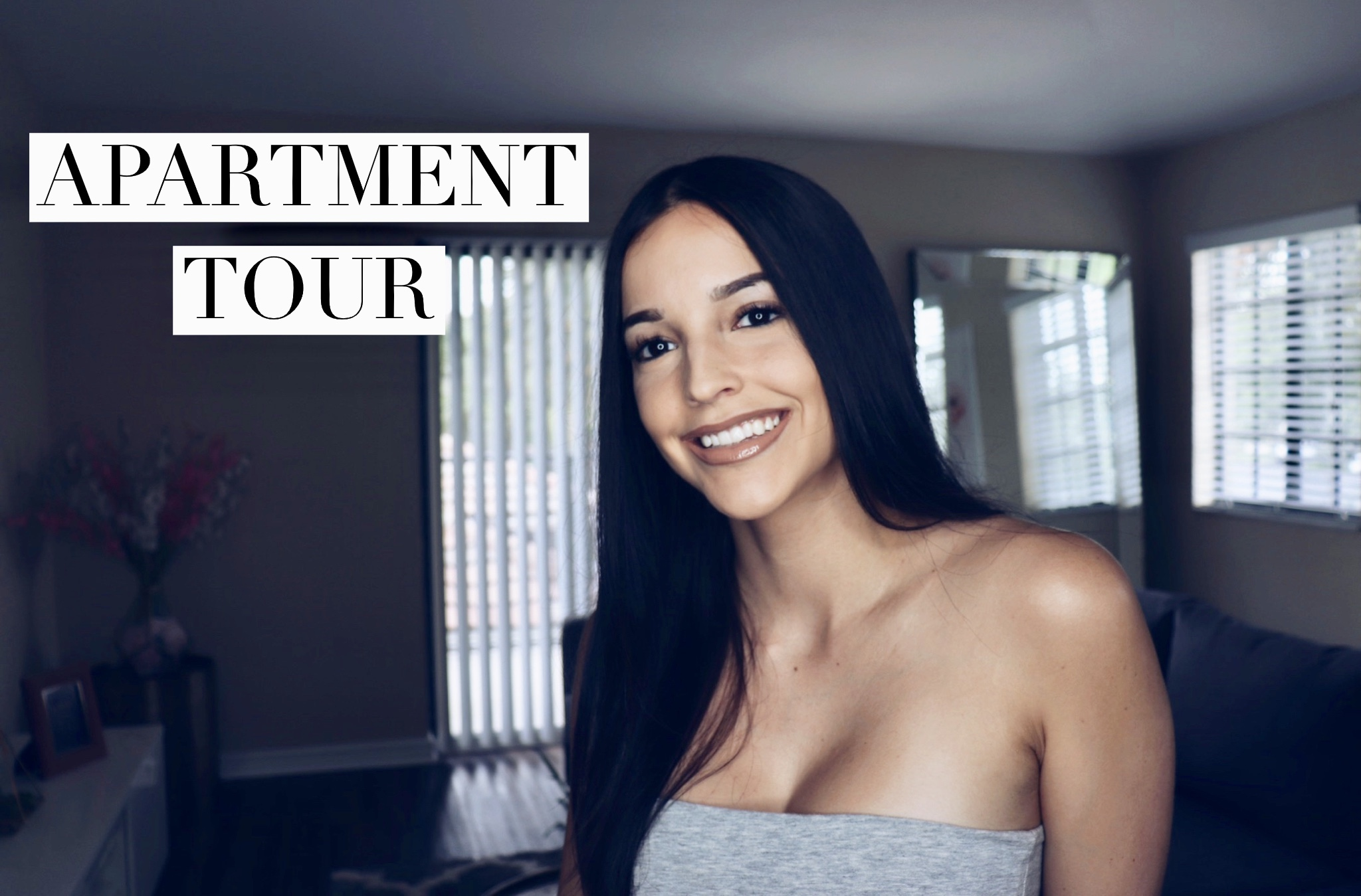 Small Apartment Tour||On a Budget