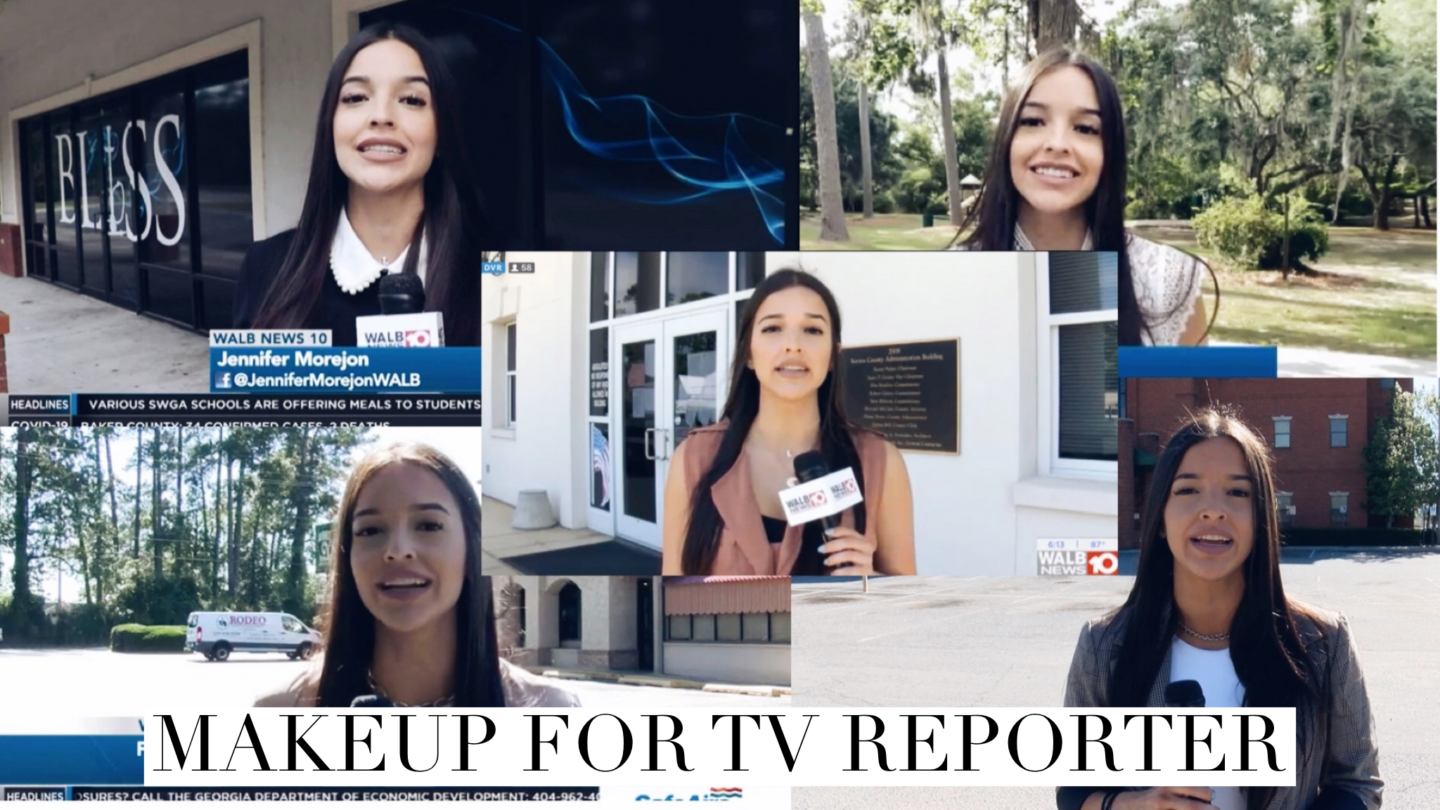 GRWM| Makeup for TV News  Reporter