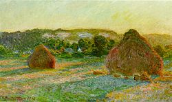 Haystacks -- Monet