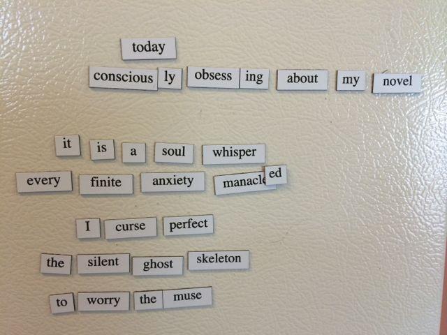Refrigerator Poetry