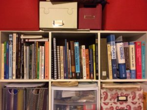 Office Area Bookshelf