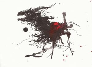 Inkblot Dragon