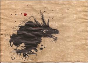 Parchment dragon