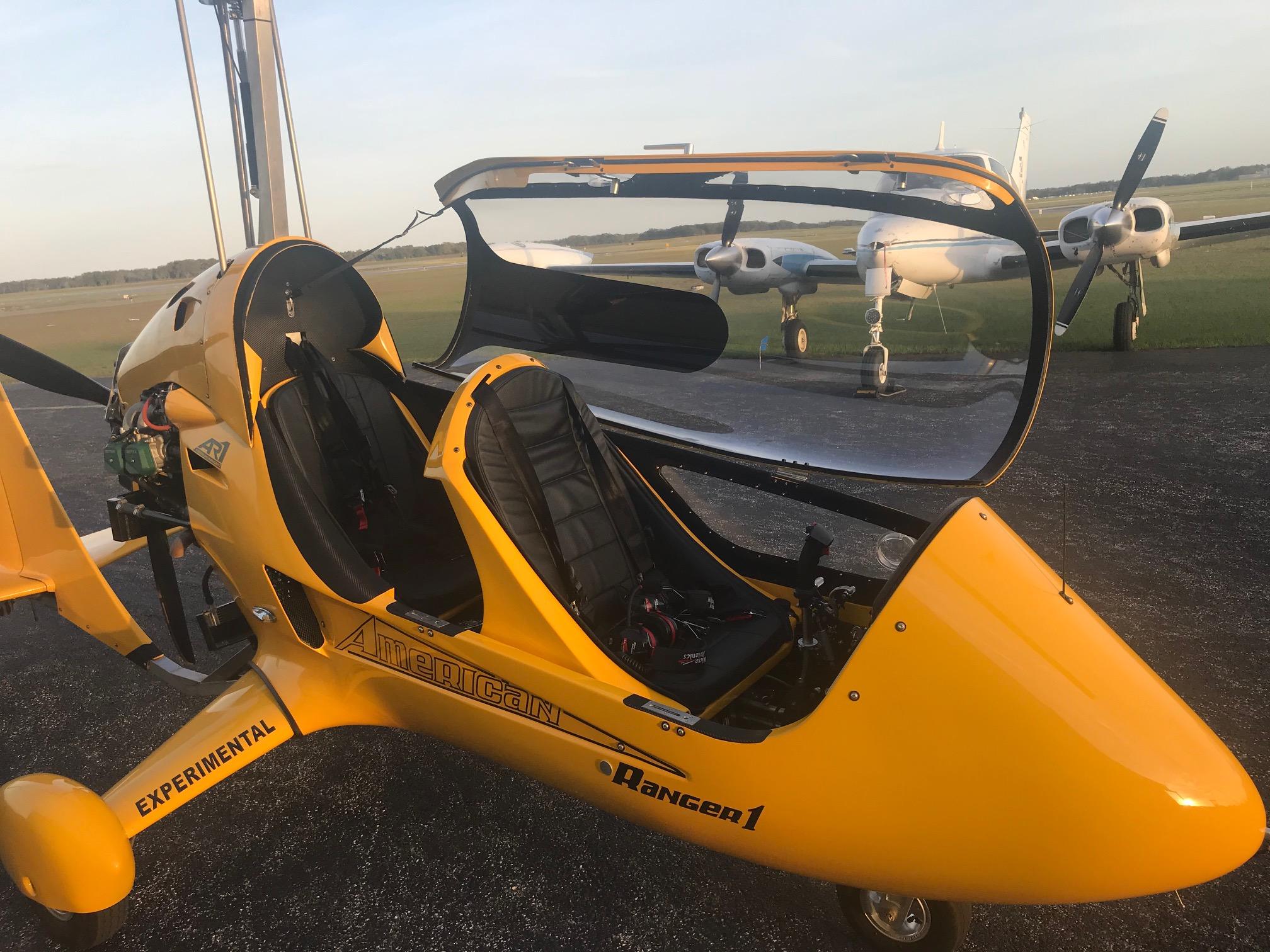Enclosed AR-1Gyroplane