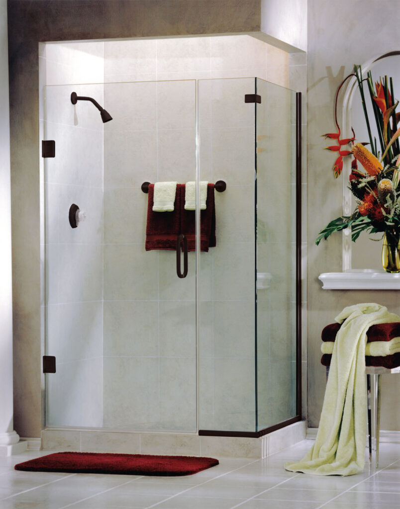 Heavy Glass Shower Door