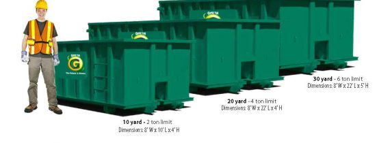What's the best dumpster size for my project?