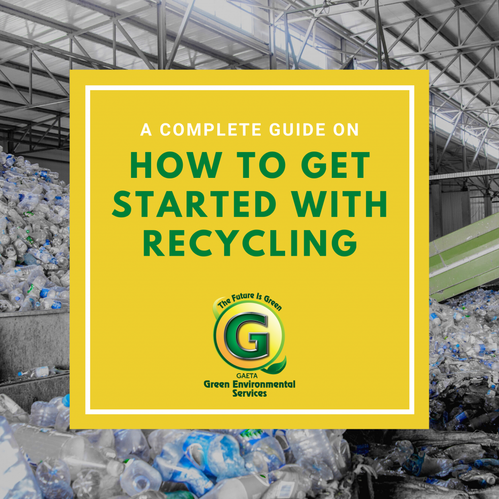 How to get started with recycling
