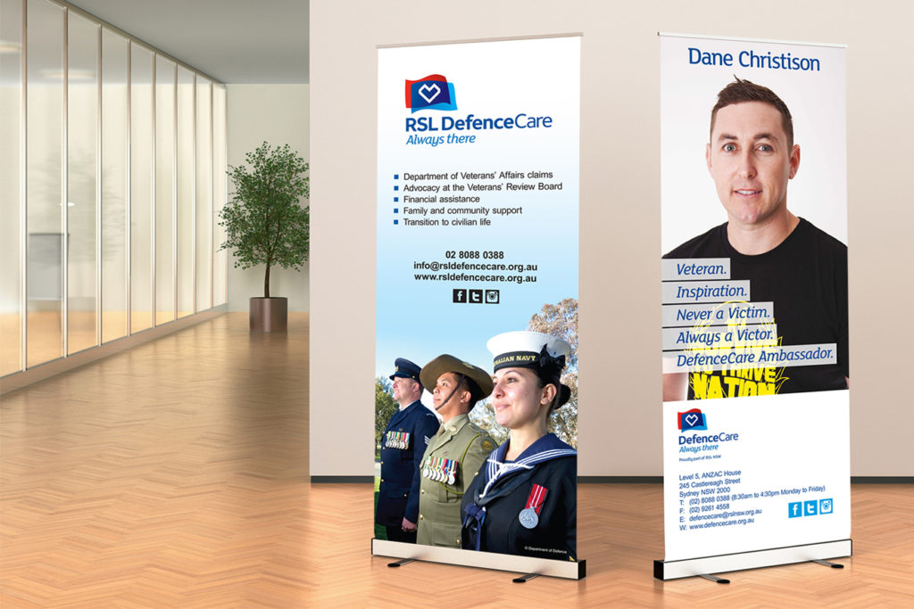 DefenceCare banners