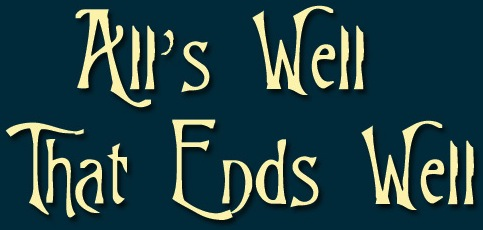 Alls Well That Ends Well Shakespeare Edited Leicester
