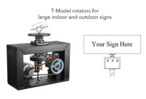 Semco Outdoor Sign Rotators